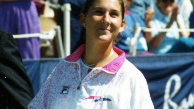 Monica Seles was stabbed in 1993