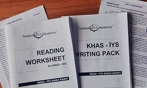 YENİ Kadir Has Hazırlık Atlama Sınavı: KHAS STYS | Konular, Kelime Listesi, Örnek