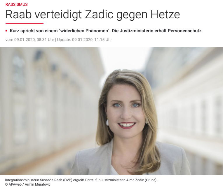 Susanne Raab ÖVP © Armin Muratovic