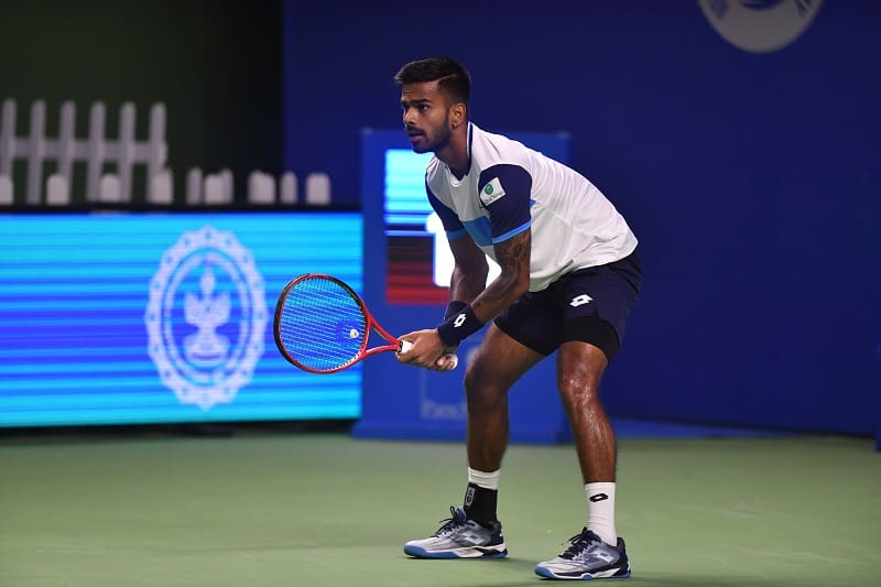 Nagal was unable to overcome Troicki