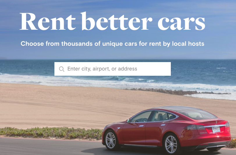 can you rent your car