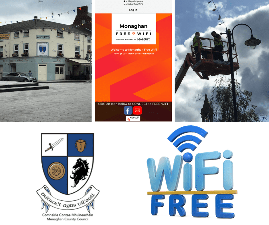Monaghan Town Free Wifi Extended