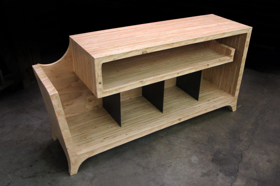 Spiral Record Sideboard