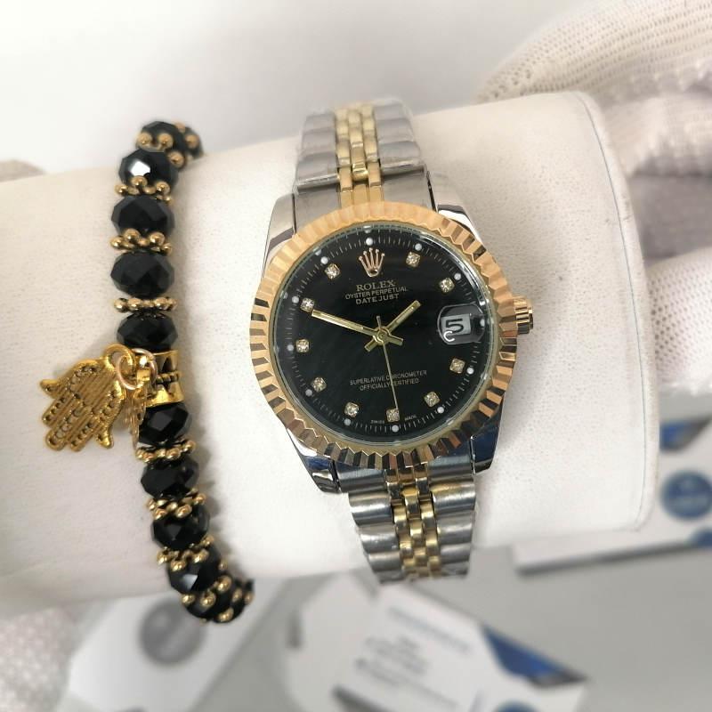 Reproduction Montre Rolex Datejust Fond Noir