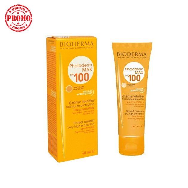 Protection solaire Anti-UVA et Anti-UVB Bioderma Spf100 /40ML
