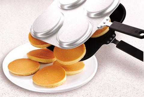 Poêle à 4 Cavités pour crêpe biscuits cake Robustes
