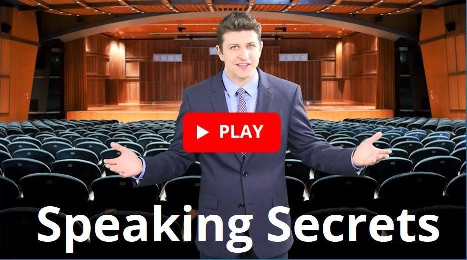 Pres Vasilev's Speaking Secrets