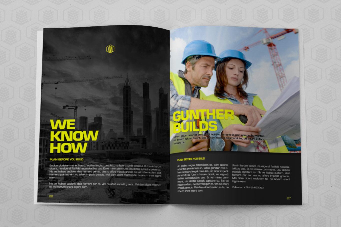 gunther editorial design