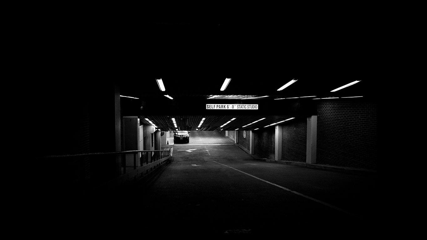 underground parking of static studio