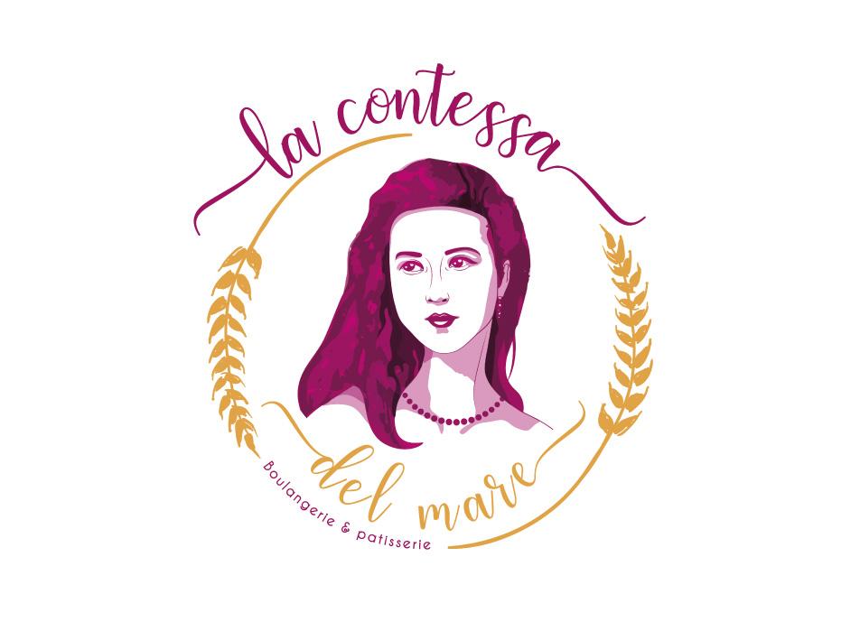 portfolio-Création logo-contessa