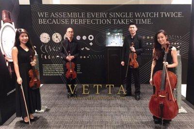 String Quartet for A. Lange & Söhne Timepieces Watch Product launch