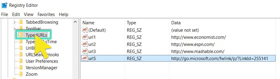 typed-url-folder