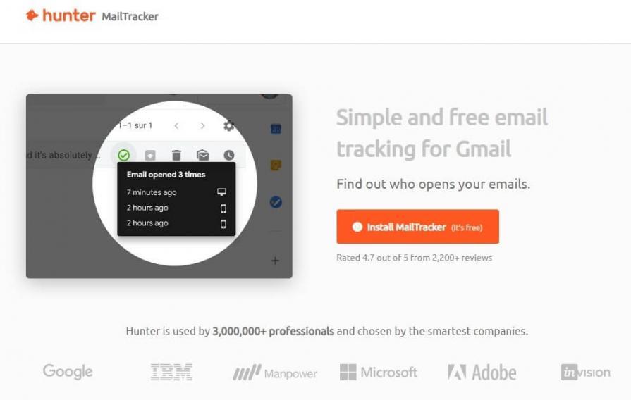 MailTracker by Hunter