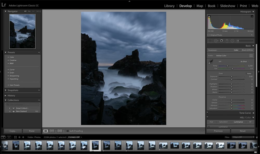 Adobe Lightroom Classic CC Develop