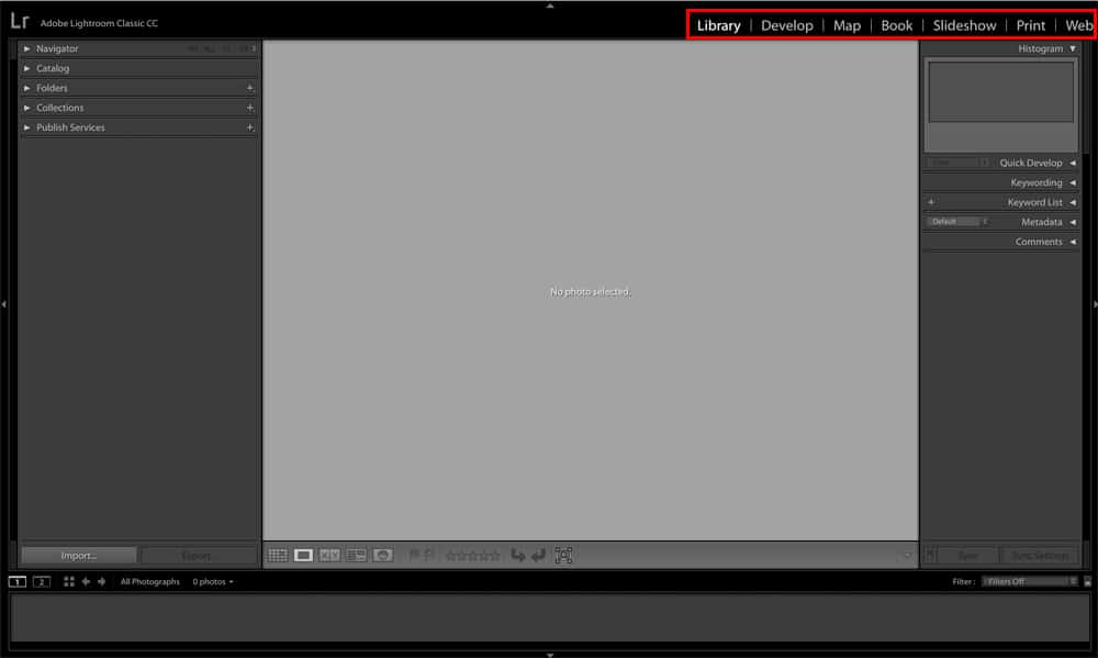 LEarn how to edit in Lightroom   Adobe Lightroom Classic CC Modules