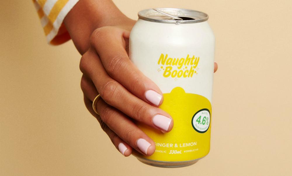 Nuaghty Booch; alcoholic kombucha