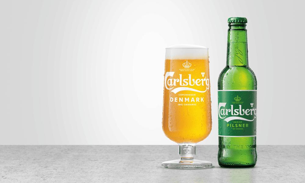 Carlsberg bottle