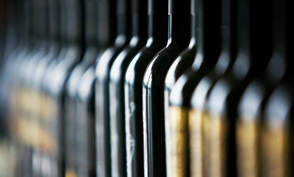 Anti-counterfeit wine technology