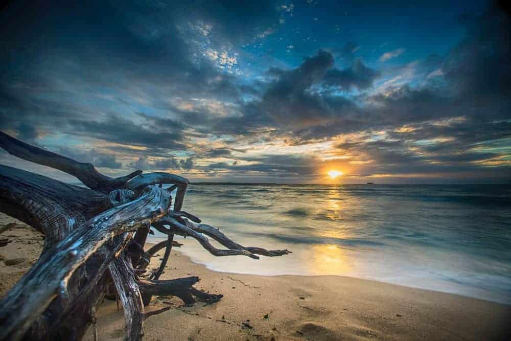 ocean photography at sunrise