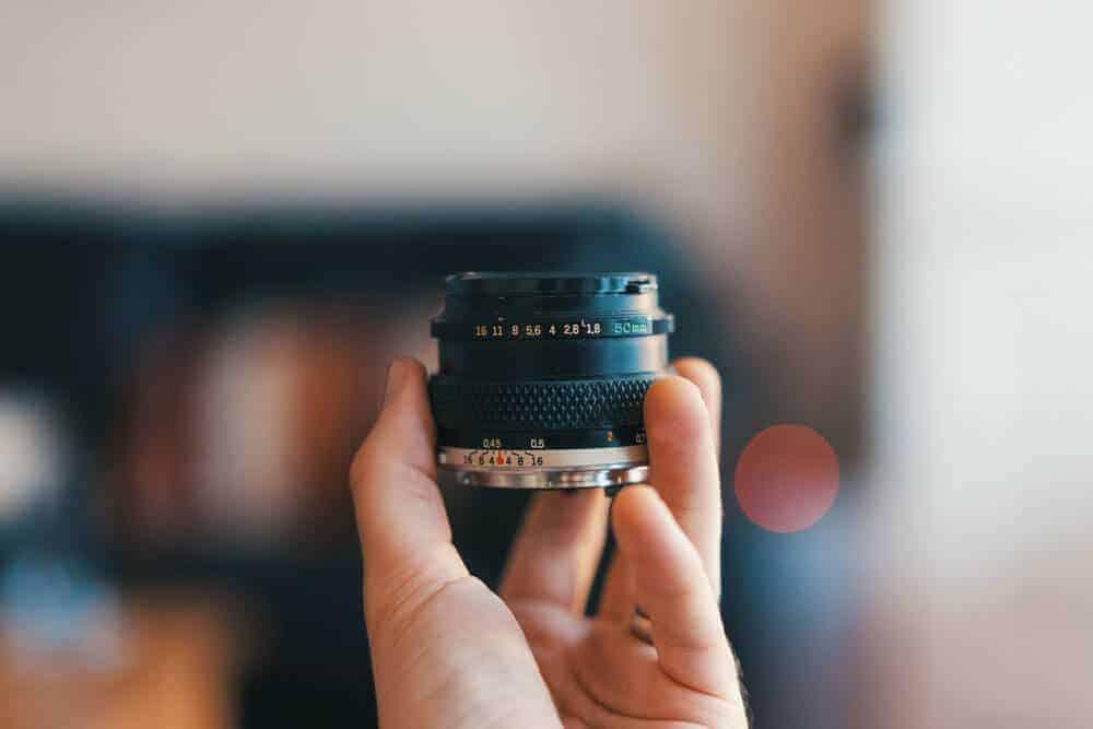 Types of Camera Lenses prime lens