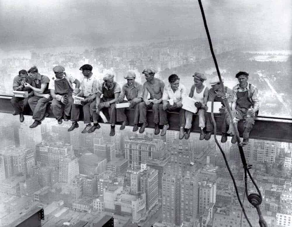 Lunch Atop A Skyscraper, 1932 - The Importance of Photography