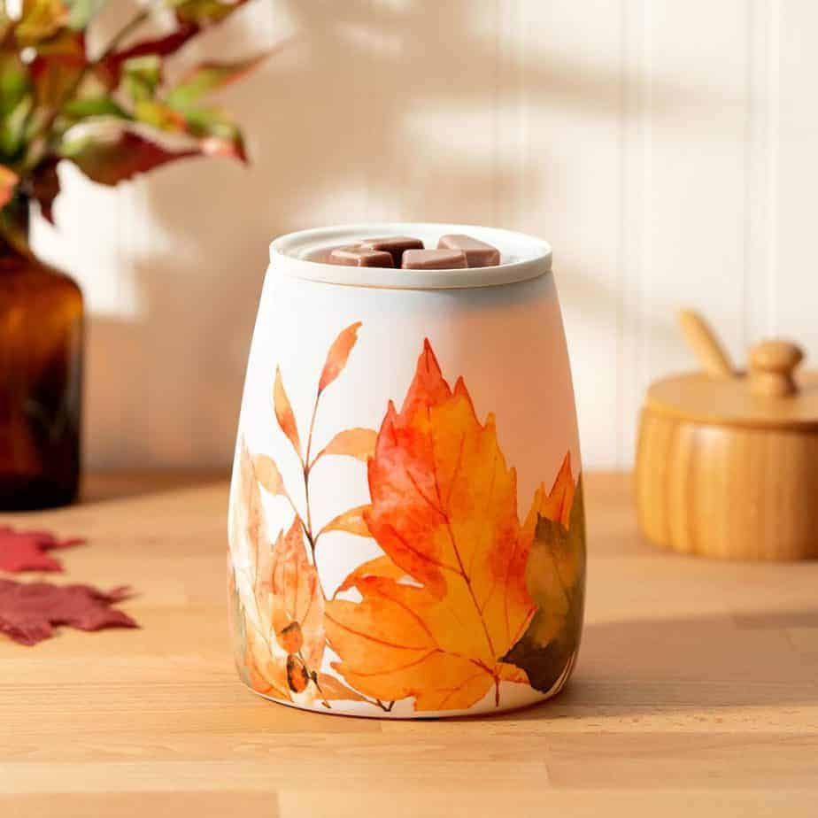Leaves You Happy Scentsy Warmer
