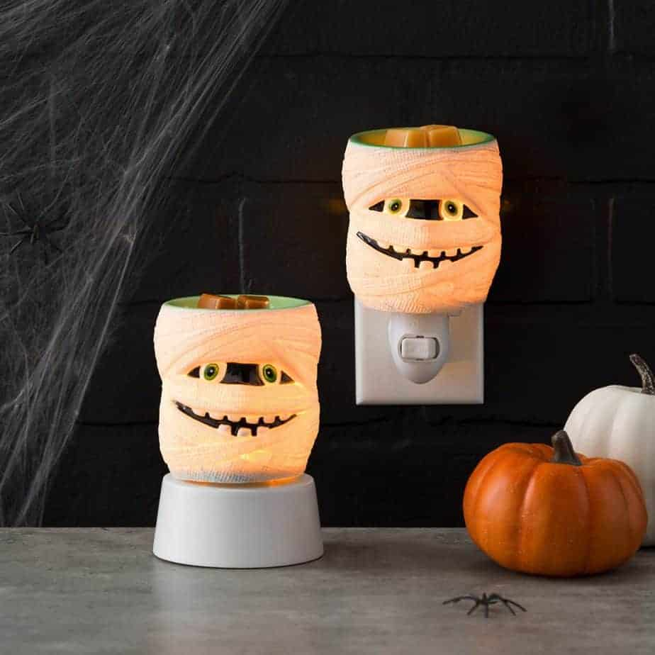 Under Wraps Scentsy Mini Warmer and Under Wraps Scentsy Tabletop Warmer