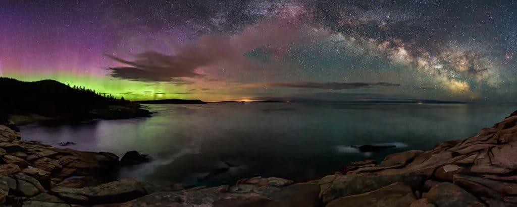 Maine Northern Lights.