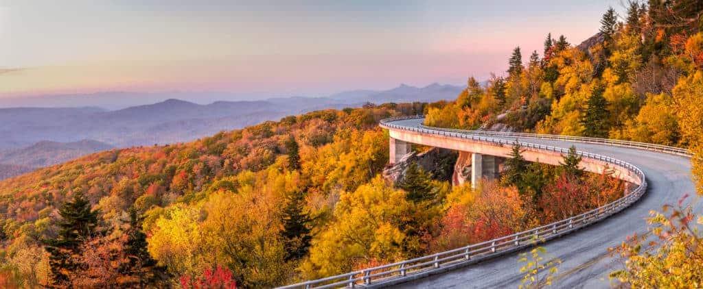 Blue Ridge Parkway, North Carolina.