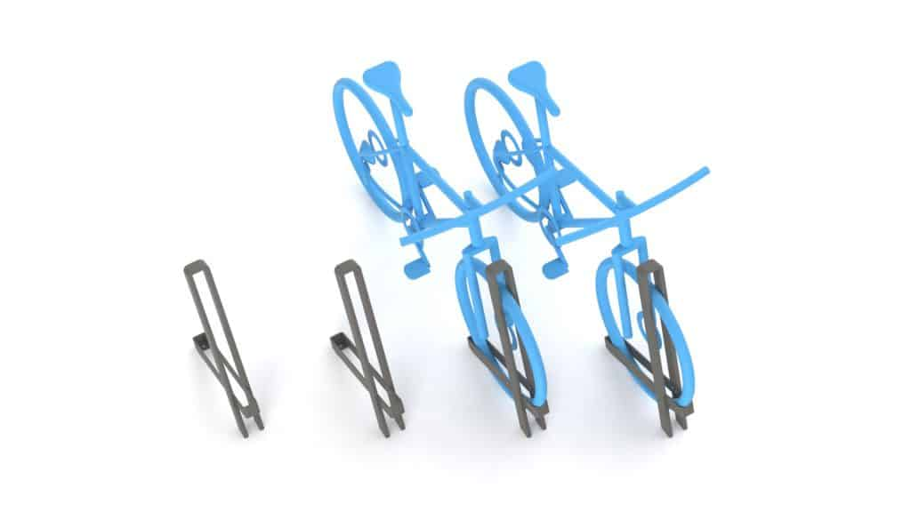 Urbania Fahrradständer IKS One 4