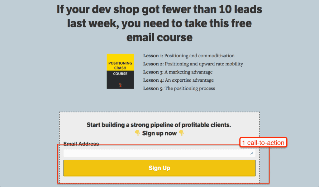UX for lead generation