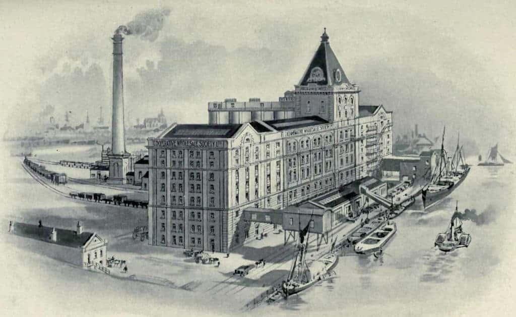 Silvertown Flour Mill, London