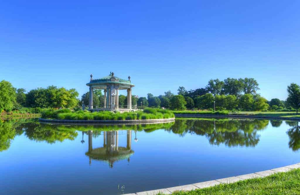 The Forest Park in St. Louis, Missouri.