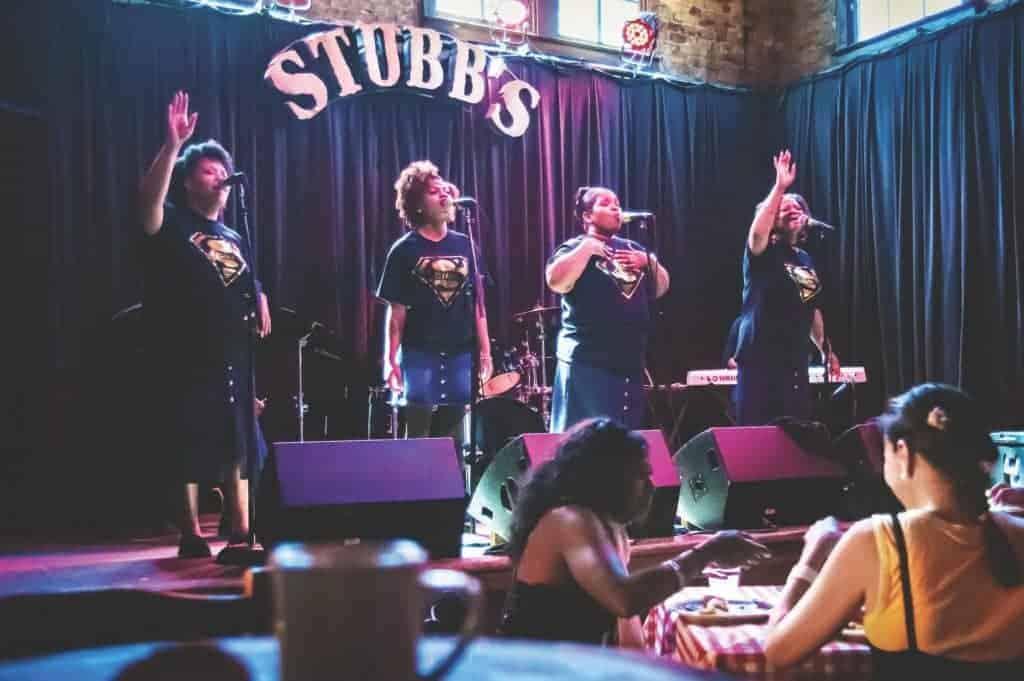 The Spiritualettes, Stubb's Bar-B-Q.