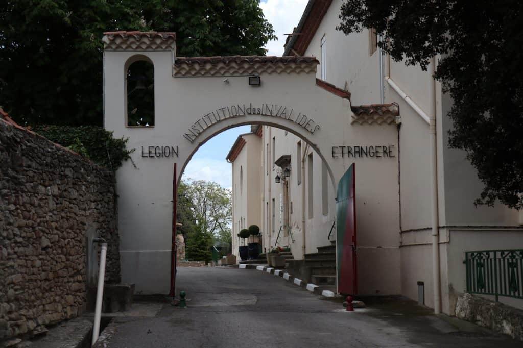 winemaker's trail foreign legion
