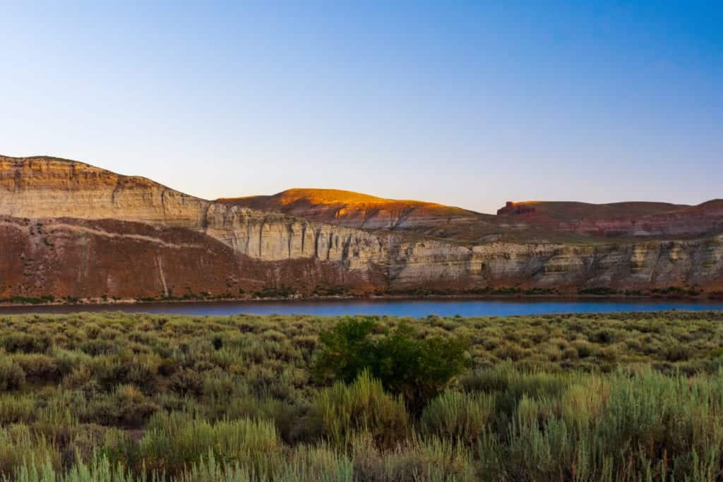 Flaming Gorge National Recreation Area.