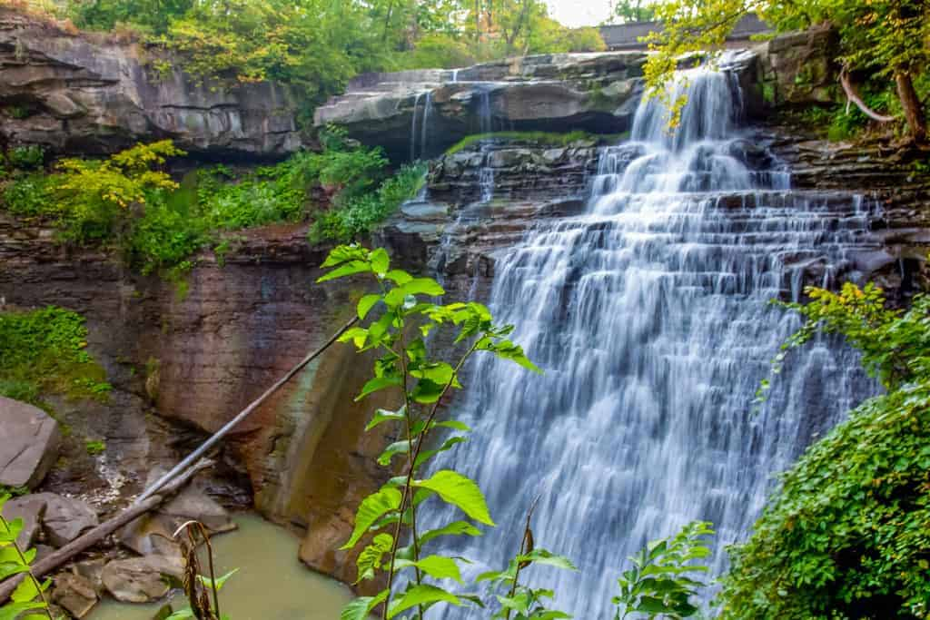 Brandywine Falls in Cuyahoga Valley National Park.