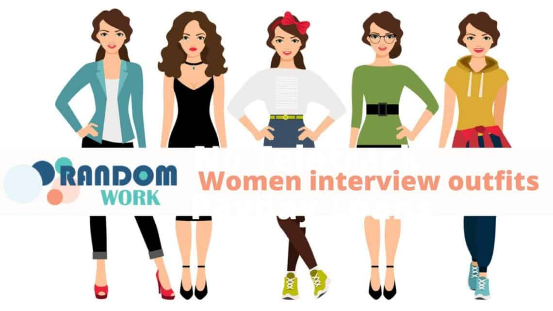 5 outfits for your perfect interview