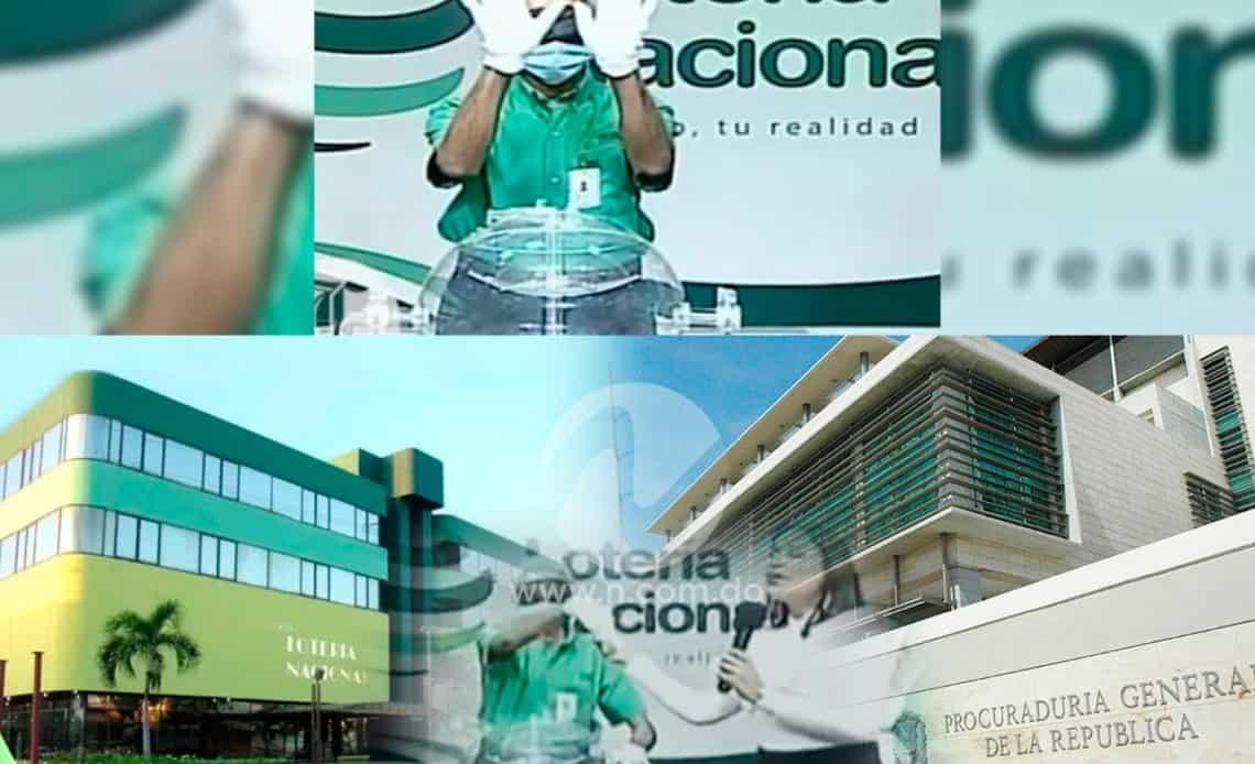 Lotería Nacional, no vidente.