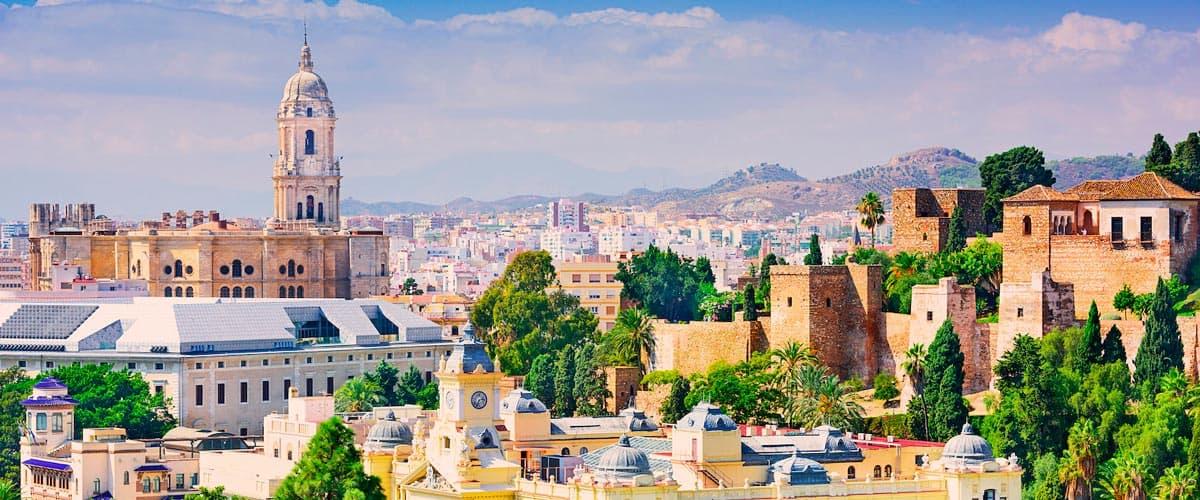Málaga, vista general