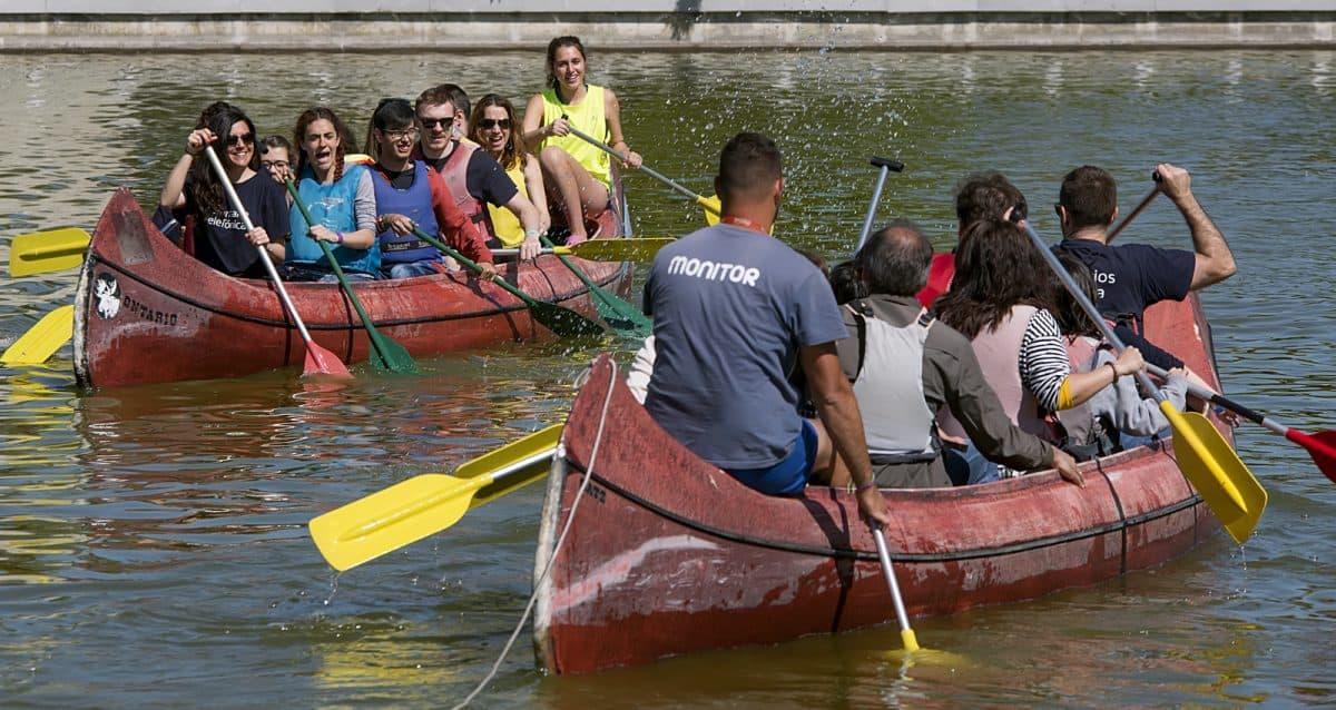 El programa de multiactividad en familia desarrolla actividades al aire libre de fin de semana en zonas de valor natural como el pantano del Burguillo o Piedralaves.