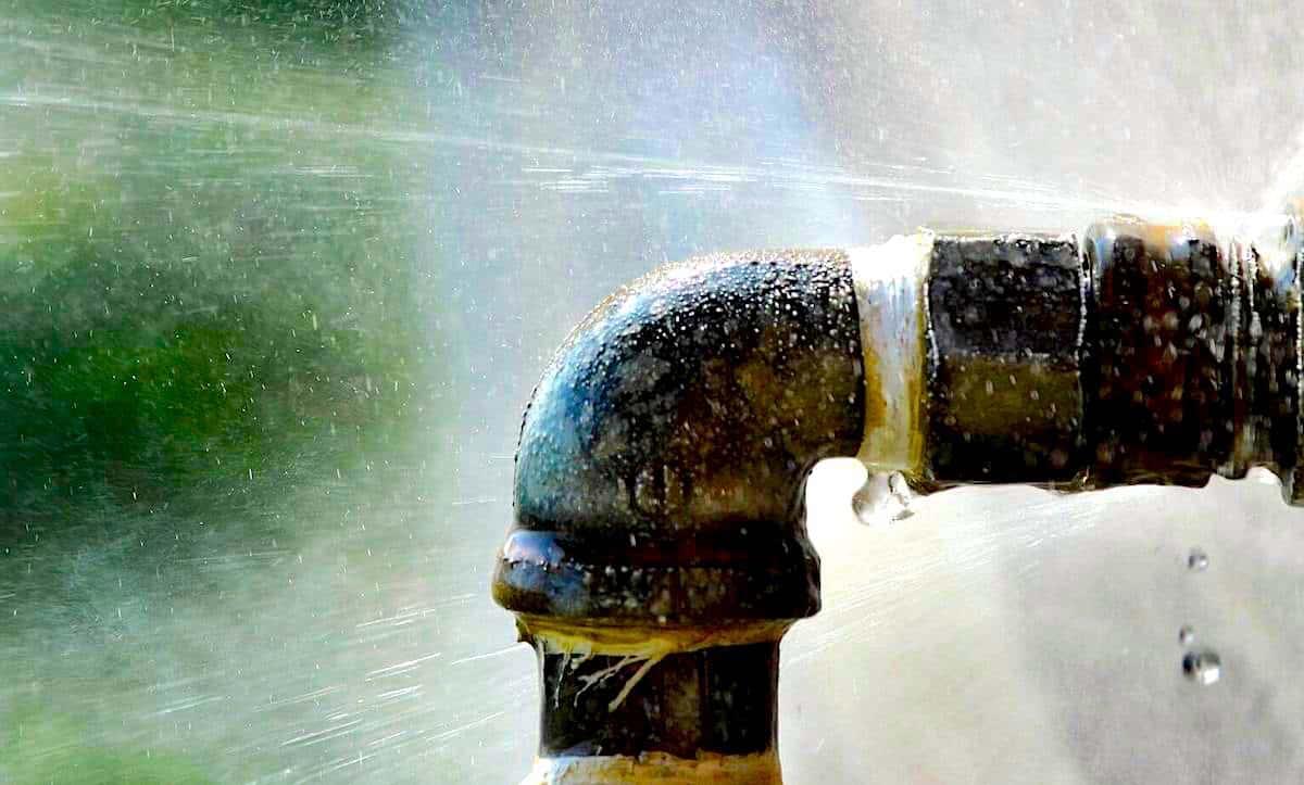 Water Damage From Bursting Pipe