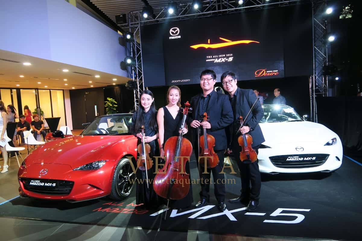 Car Launch - Mazda MX5