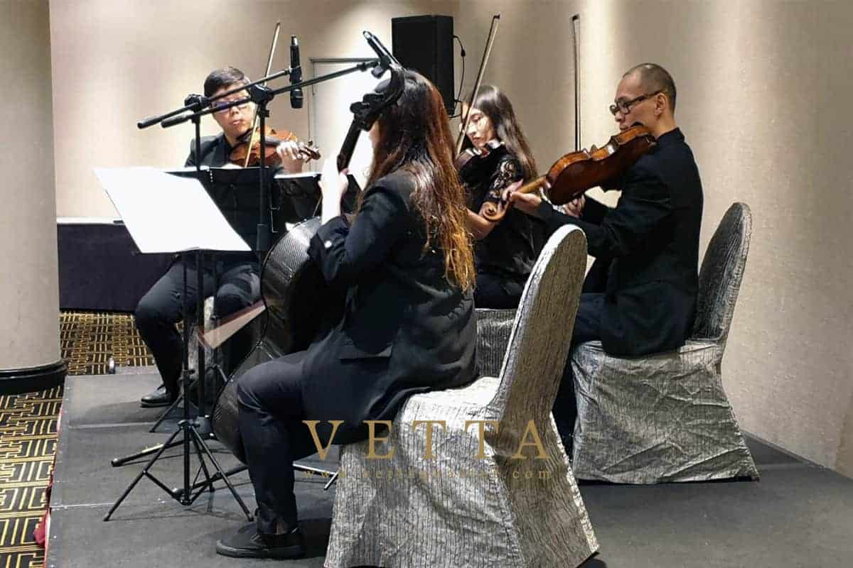 String Quartet for Singapore Food Agency - ASEAN Corporate Event at Concorde 3, Concorde Hotel