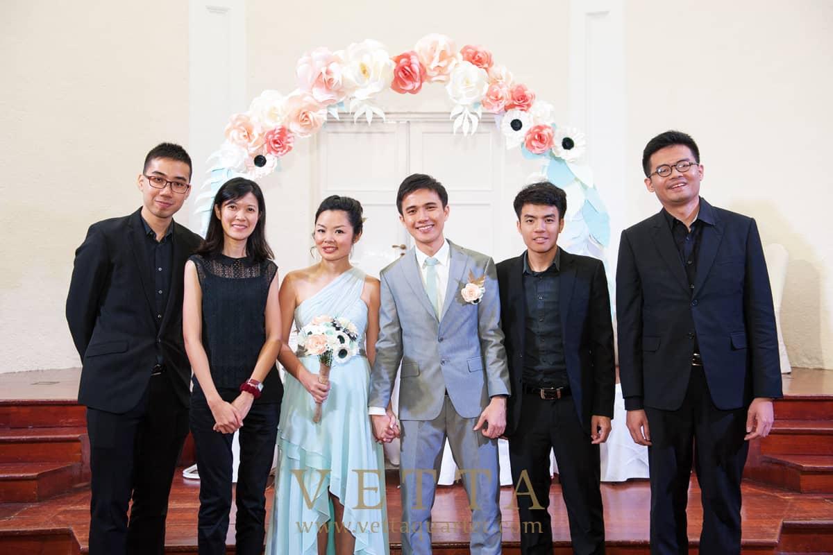Wedding Solemnisation at Arts House Singapore