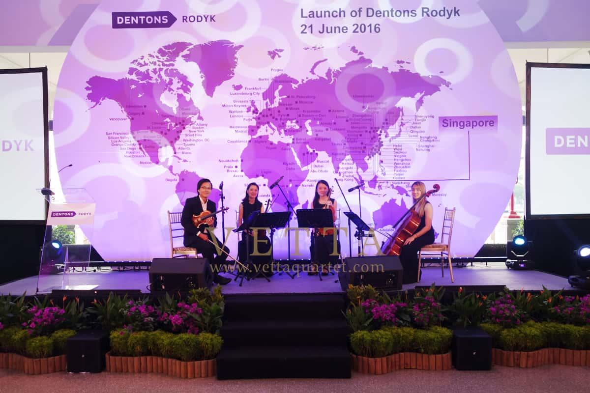 Launch of Dentons Rodyk at Fullerton Bay Hotel