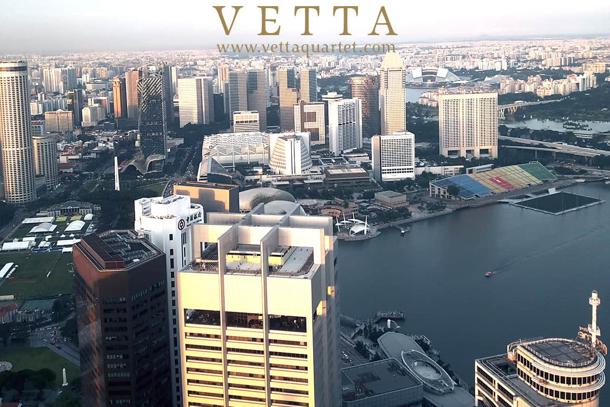 Live ESTA String Quartet for Corporate event at Republic Plaza Tower Club Singapore
