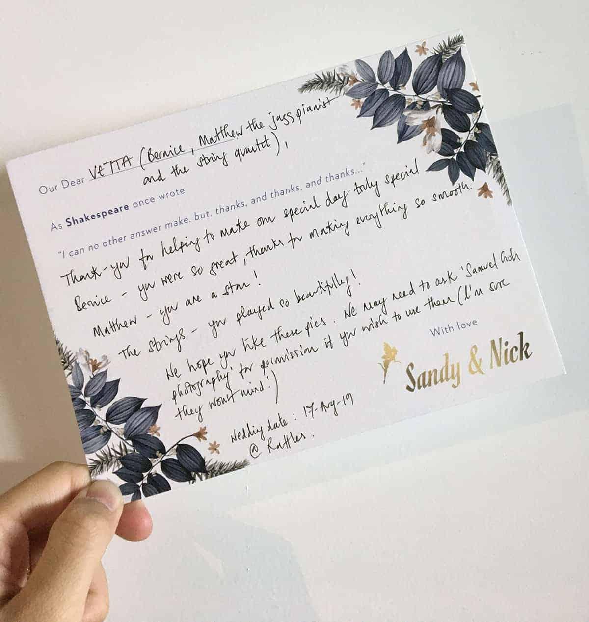 Testimonial from Sandy