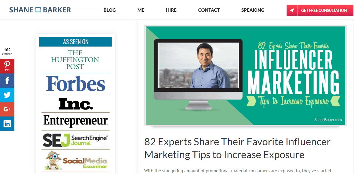 Expert Roundup Content Marketing Case Study