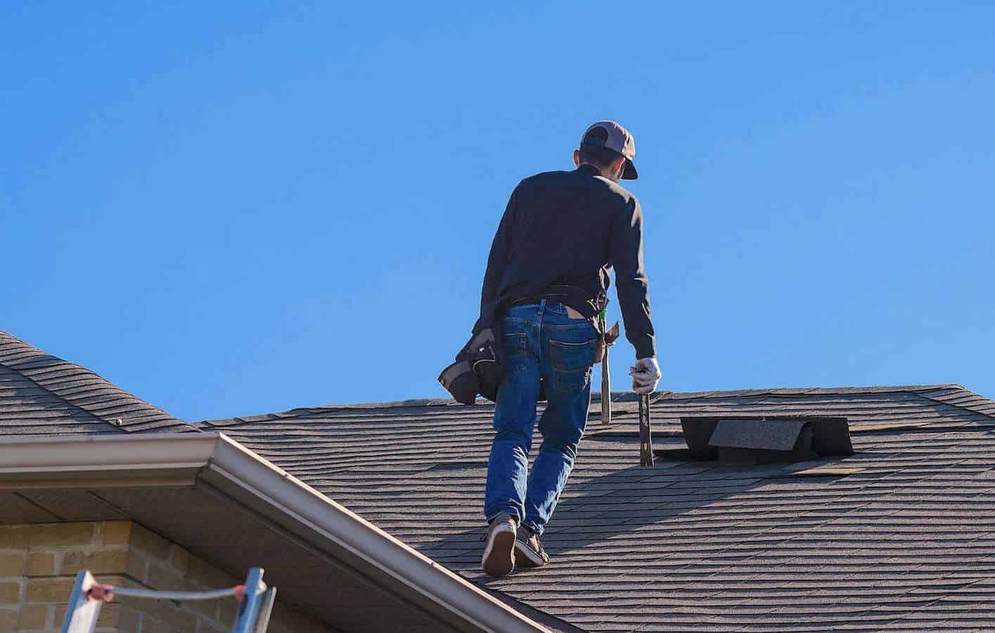 Inspecting Roof Damage for Insurance Claim
